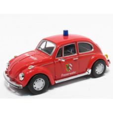 VW Kever Feuerwehr(D) autominiatuur 1:43
