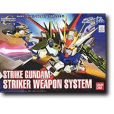 Gundam SD Strike Gundam Striker Weapon System