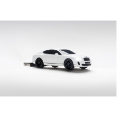 Click Car Sticks Bentley Continental Suppersports, USB Memory Stick 8GB - (White)