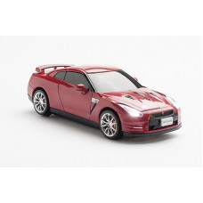 Click Car Mouse Nissan GT-R (R35), wireless mouse - (Gold flake Red Pearl)