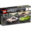 LEGO Speed Champions 75888 Porsche 911 RSR en 911 Turbo 3.0