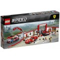 LEGO Speed Champions 75889 Ultieme Ferrari garage