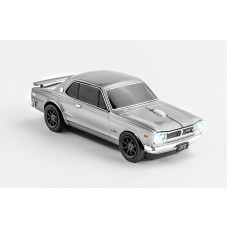 Click Car Mouse Nissan Skyline GT-R2000, wireless mouse - (Zilver)