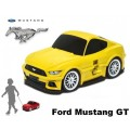 RIDAZ Kindertrolley Ford Mustang_(Geel)